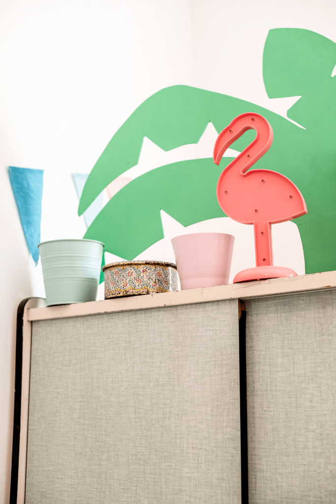vinced photo flamingo flamant rose deco formica